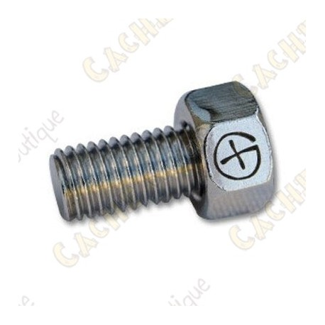 """Magnetic bolt  """"Geo"""" - Silver"""