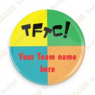 Crachá Team Name x 100 - Personalizado