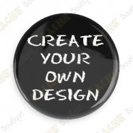 100% custom button - Pack of 100