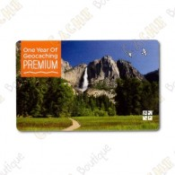 Geocaching.com PREMIUM membership gift card - 1 year