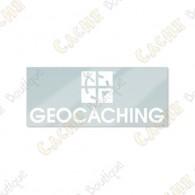 Sticker GEOCACHING intérieur pour véhicule
