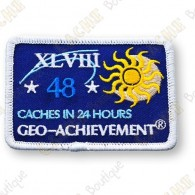 Geo Achievement® 24 Hours 48 Caches - Parche