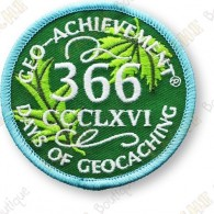 Geo Achievement® 366 Jours - Patch