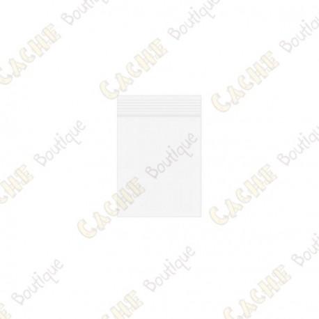 Bolsa Zip x10 - 3 x 4 cm