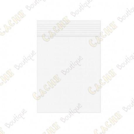 Sachets Zip x10 - 7 x 10 cm