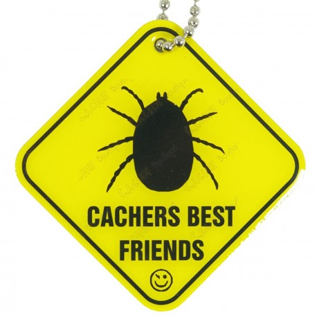 "Traveler ""Cachers Best Friend"" - La tique"