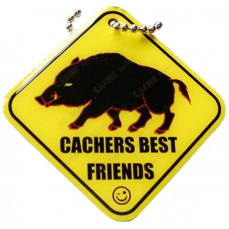 "Traveler ""Cachers Best Friend"" - Boar"