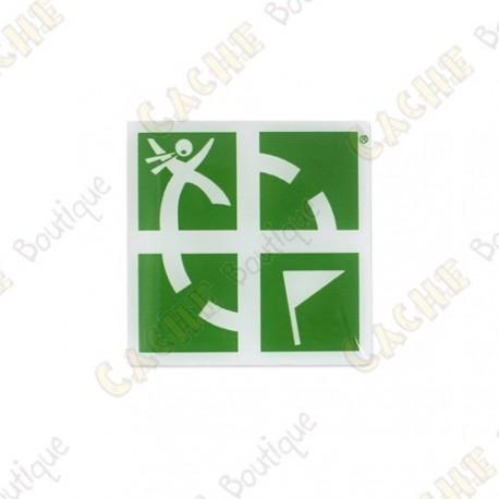 Pin's Groundspeak - Green