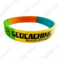 Bracelet silicone Geocaching - Color