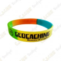 Bracelet silicone Geocaching Enfants  - Color