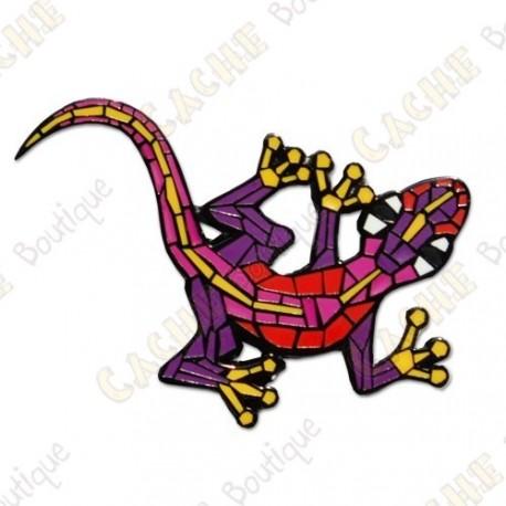 "Geocoin ""Gecko"" v2 - Purple BN"