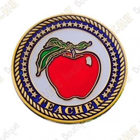 """Geocoin """"Teacher"""""""