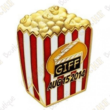 "Geocoin ""GIFF"" 2014 - Pop corn"