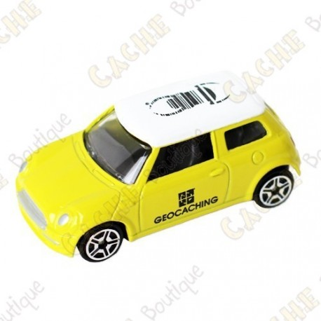 Mini Cooper trackable - Jaune
