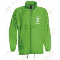 "Parka ""K-Way"" type - Green"