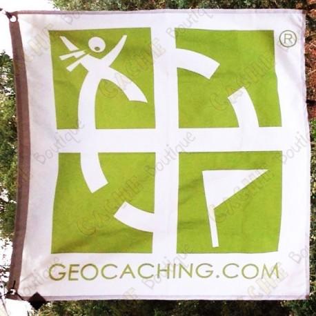 Geocaching Bandera rastreable - Modelo gran