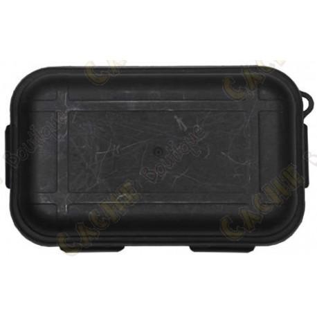 Boîte étanche noire avec Kit de survie