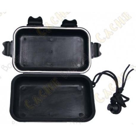 Black waterproof box - Small
