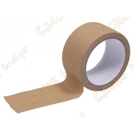 Wide adhesive tape - Sand color