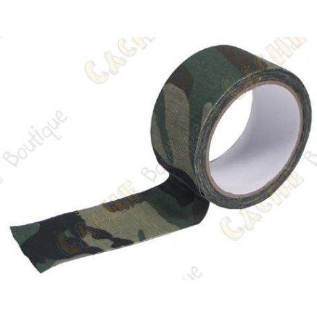 Amplia camuflaje adhesiva - Verde
