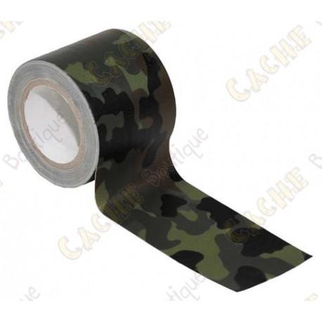 Adhésif camouflage synthétique - Jungle