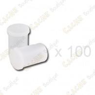 Mega-Pack - Film canister blanc x 100