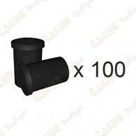 Mega-Pack - Film canister noir x 100