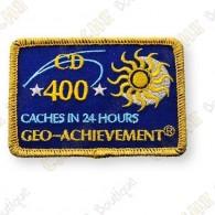 Geo Achievement® 24 Hours 400 Caches - Parche