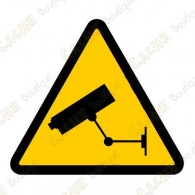 "Cache ""Warning video surveillance"""