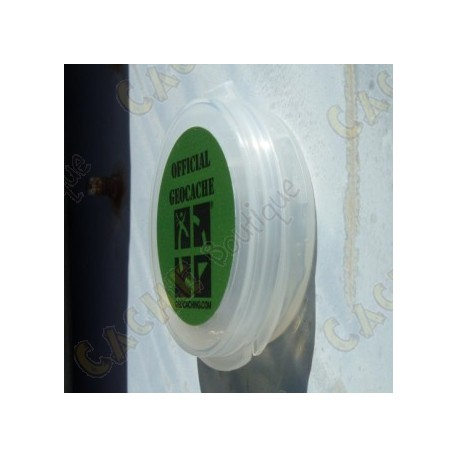 """Magnetic micro """"Pastille"""" container - 4 cm thin"""