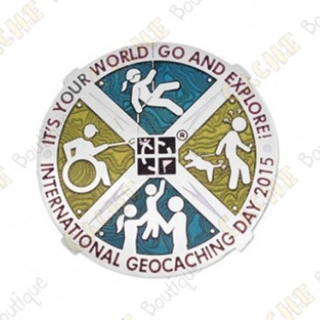 "Geocoin ""International Geocaching Day"" - Special Edition"