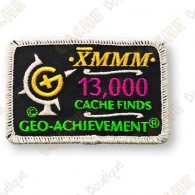Geo Achievement® 13 000 Finds - Patch