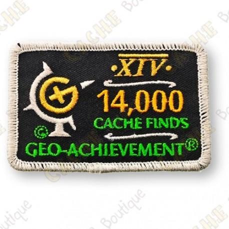 Geo Achievement® 14 000 Finds - Patch