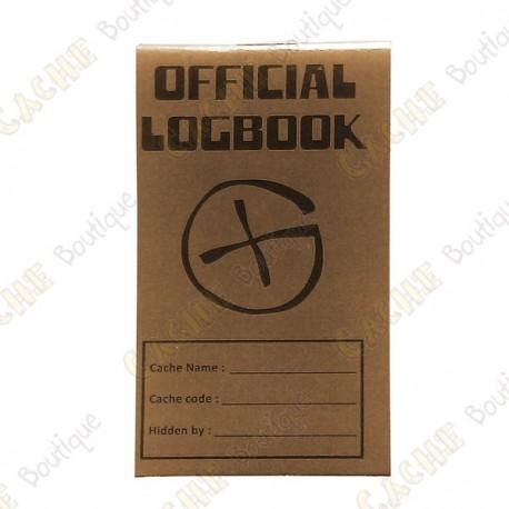 """Pequeño logbook """"Official Logbook"""" - Rite in the Rain"""