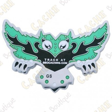 "Geocoin ""Wicked Wisdom"" - Verde"