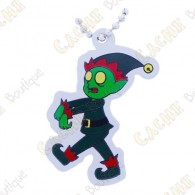 "Traveler ""Jingles the Zombie Elf"""