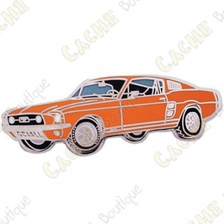 "Geocoin ""Mustang"" - Orange"