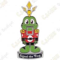 "Geocoin ""Signal the Frog® Nutcracker"""