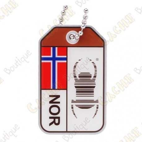 "Travel Bug ""Origins"" - Norway"