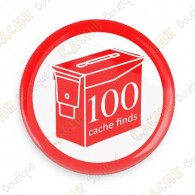 Geo Score Badge - 100 Finds