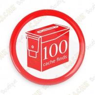Geo Score Crachá - 100 Finds