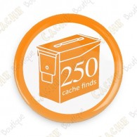 Geo Score Button - 250 finds