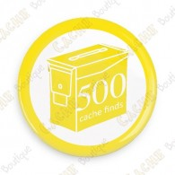 Geo Score Badge - 500 Finds