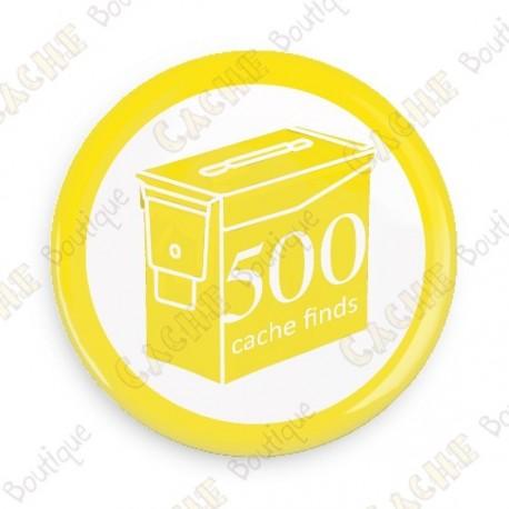 Geo Score Badge - 500 Finds