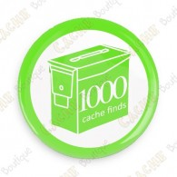 Geo Score Badge - 1000 Finds