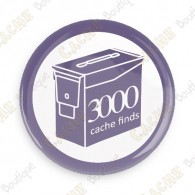Geo Score Badge - 3000 Finds