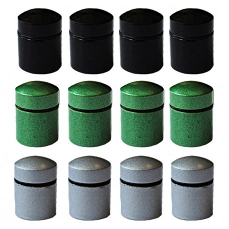 Magnetic Nano Caches x 12 - 3 colors