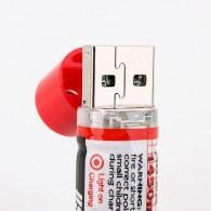 USB baterias AA recarregáveis - 1450 mAh