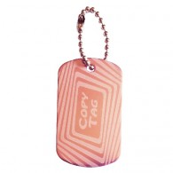 Copy Tag - Double tag - Light pink