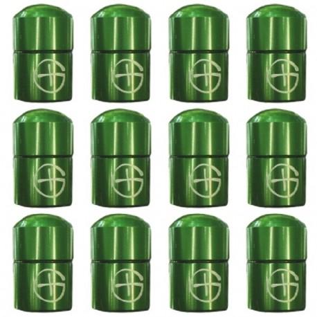 "Magnetic Nano Cache ""Geo"" x 12 - Green"